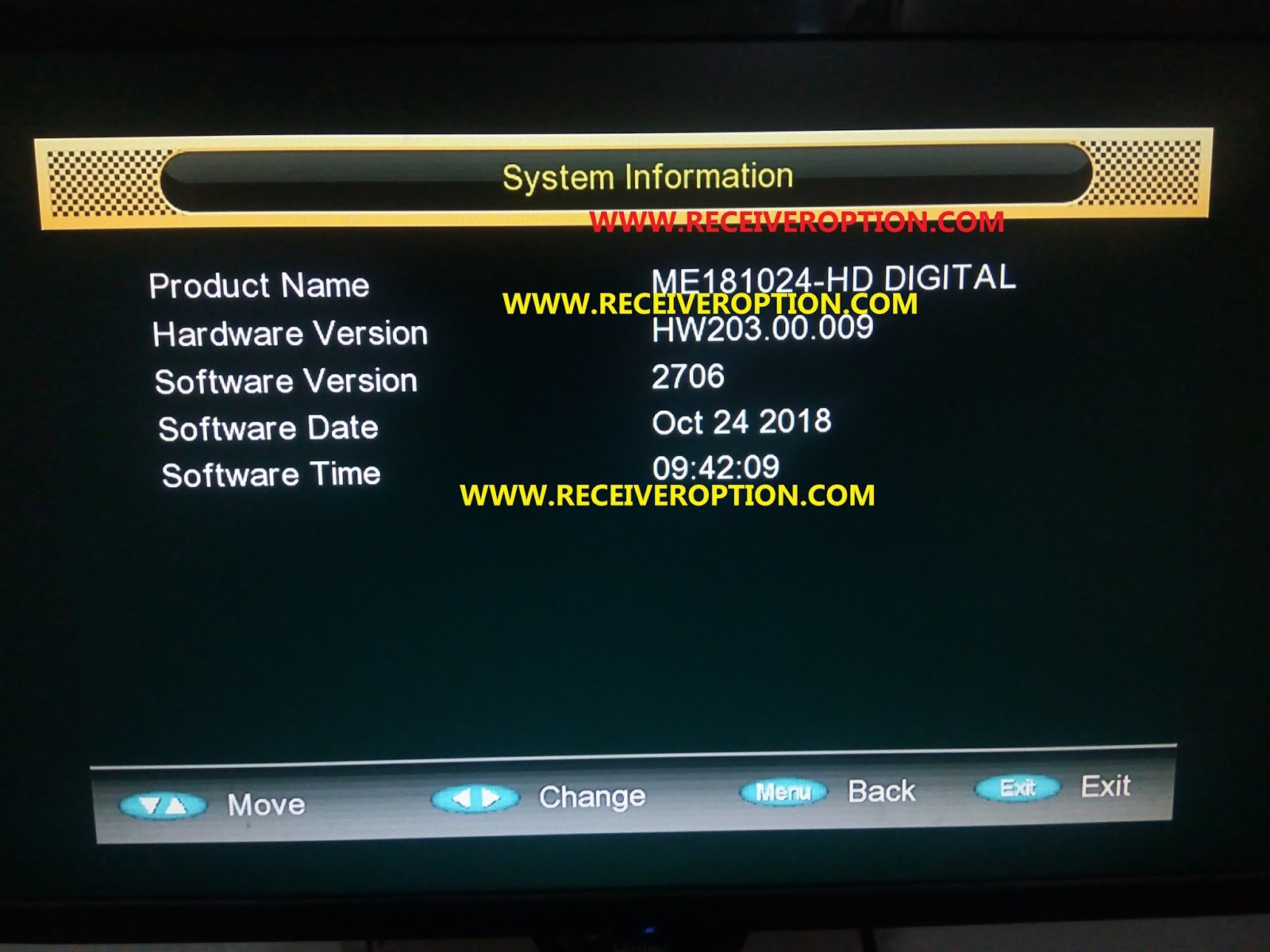 GX6605S BOARD HW203 00 009 POWERVU KEY NEW SOFTWARE - HOW TO ENTER