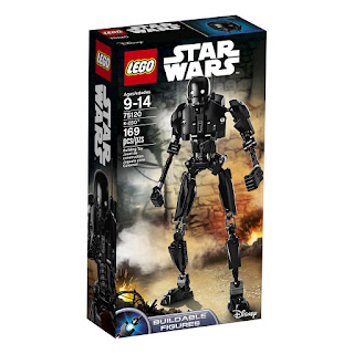 Lego robot Rogue One, K-2SO