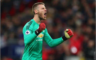 David de Gea Man of the Match Tottenham Hotspur vs Manchester United
