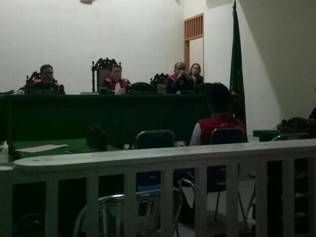 Bekken Tarigan di Tuntut 3 Tahun Oleh JPU PN Siantar Karena...