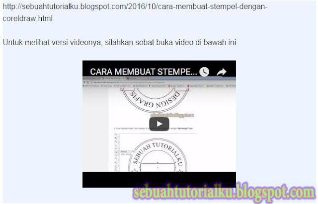 Mengatur Ukuran Resolusi Video Di Blog