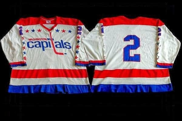 DOUG MOHNS: Like all Caps sweaters, his #2 was nameless