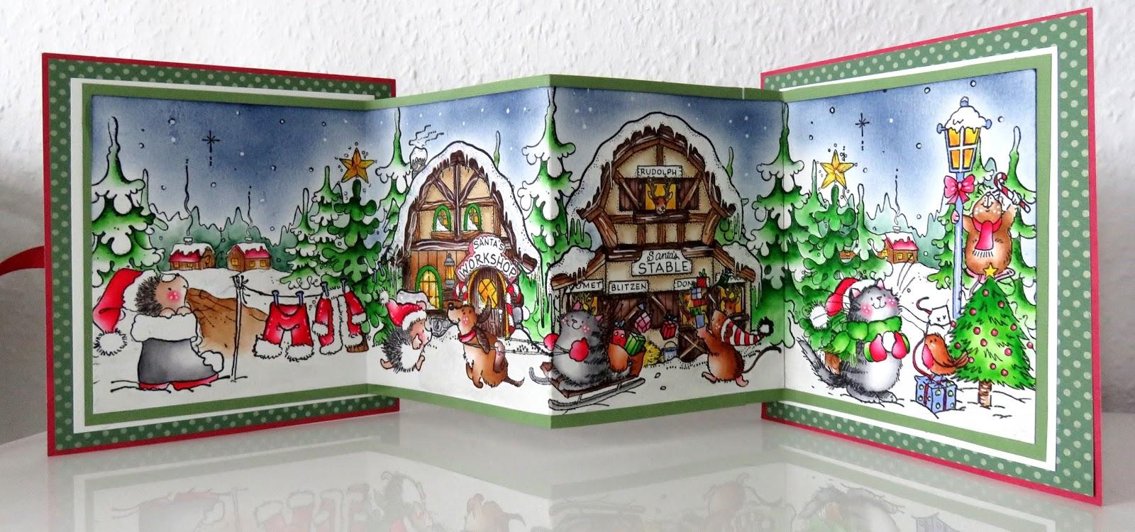 stempelglueck frohe weihnachten der 24 dezember heute ist heilig abend. Black Bedroom Furniture Sets. Home Design Ideas