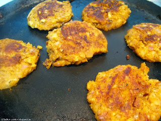 How to make Veg Burger Patty recipe