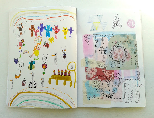 Jenny Blair, sketchbooks, drawing, sketching