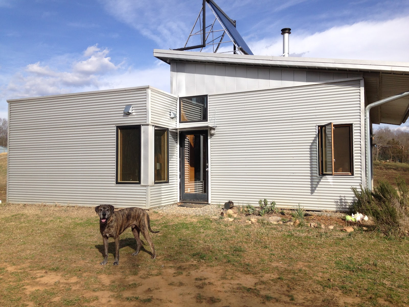 Modern Off Grid Prefab House And Homestead Hits High Temps
