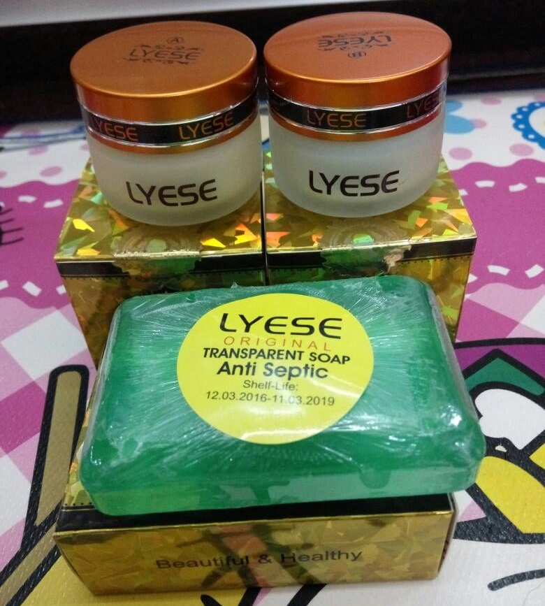 Paket Cream Lyese BIG Original
