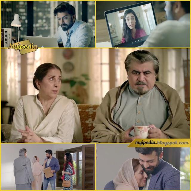 Fawad Khan in Zameen.com TVC 2017 samina peerzada, sarah khan and jamal shah