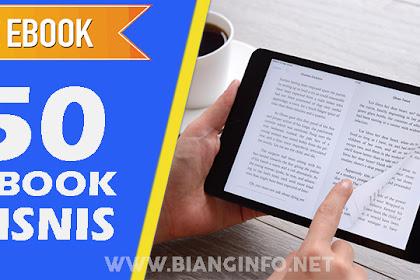 Free Download 50 E-Book Bisnis dan Motivasi Best Seller Terbaru