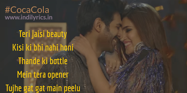 Coca Cola Tu | Karitk Aaryan & Kriti Sanon | Luka Chippi | lyrics | Quotes | Images | Pics