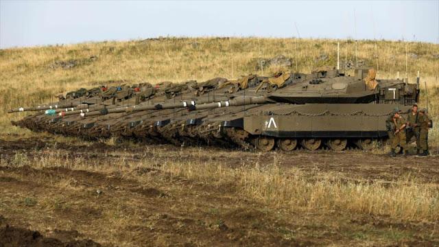 """""""Tropas israelíes se preparan para iniciar una incursión en Siria"""""""