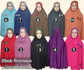 Jilbab modis syar'i dengan gaya minimalis model semi instan