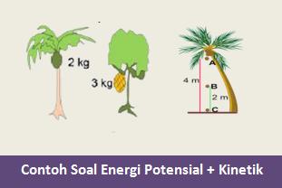 Contoh Soal Energi Potensial dan Soal Energi Kinetik Beserta Jawabannya