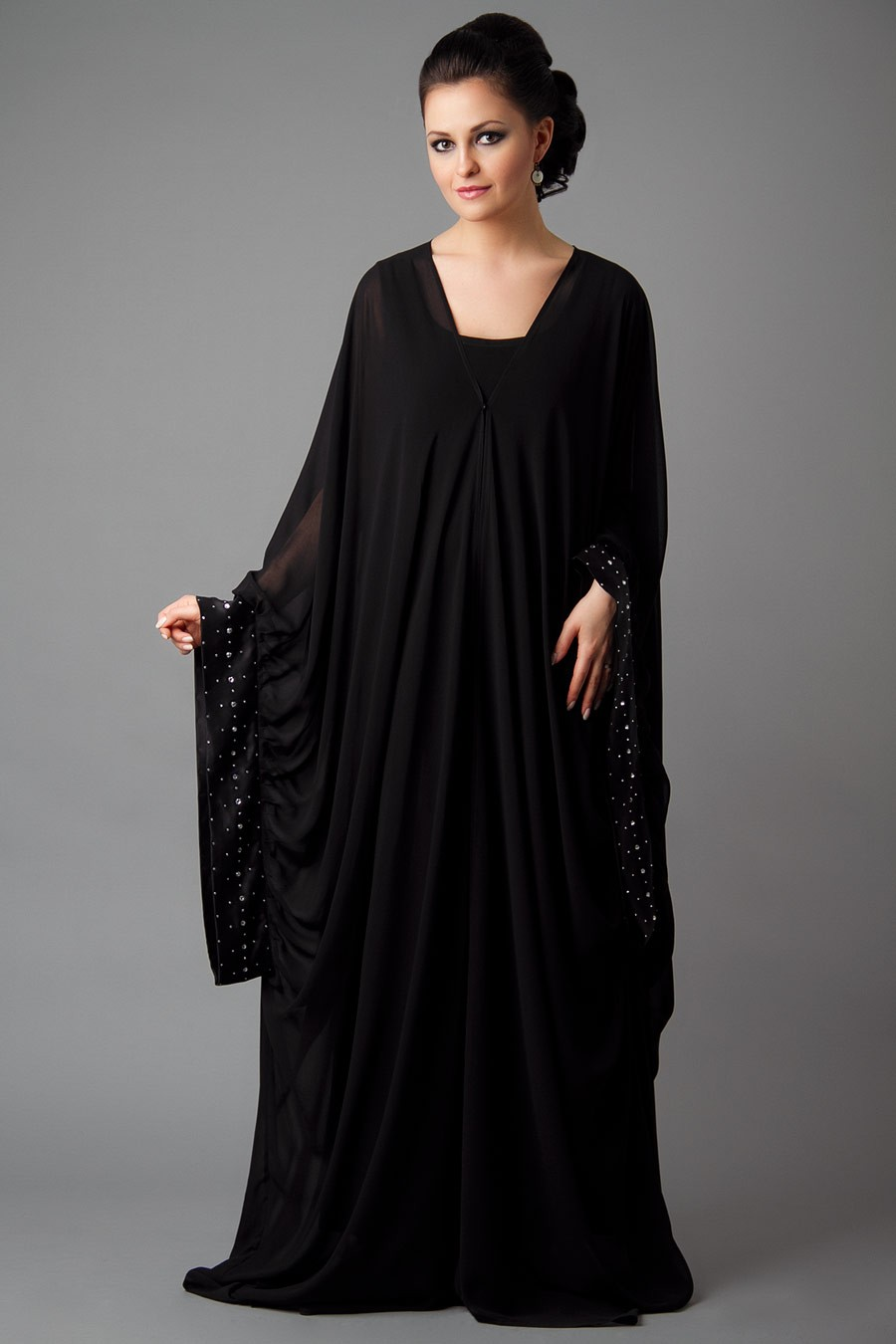 Designer Embroidered Abaya Collection 2013-2014 | New ...