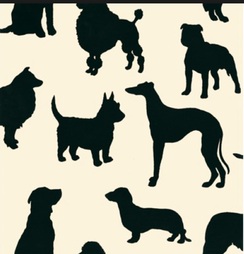 But Maybe Our Favorite Touch Is This Osborne And Little Dog Print Wallpaper For The Dogs Room