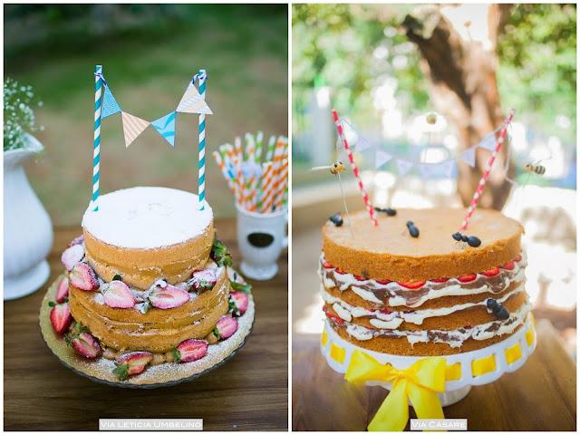 bolo aniversário ao ar livre
