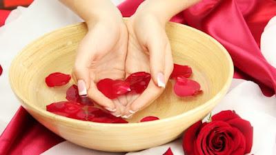 Beberapa Manfaat Air Mawar