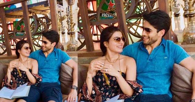 Samantha Ruth Prabhu And Naga Chaitanya