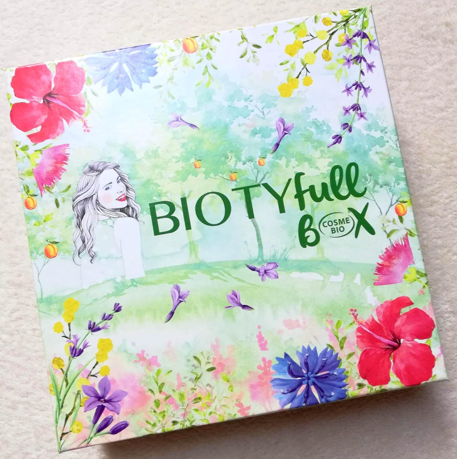 BIOTYFULL BOX Avril 2019  la box 100% COSMEBIO