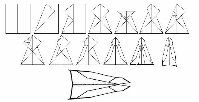 Avión de papel Wing 33