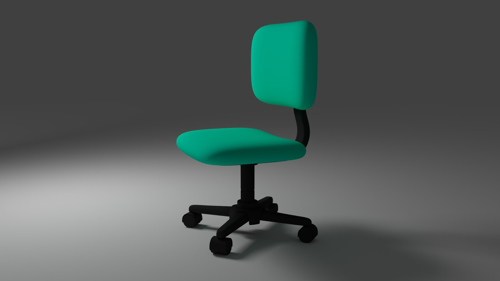 Free 3D Office Chair .blend file
