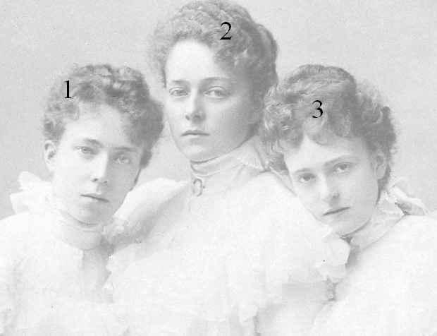 Herzogin Elisabeth, Herzogin Sophie,,Herzogin Marie Gabrielle in Bayern
