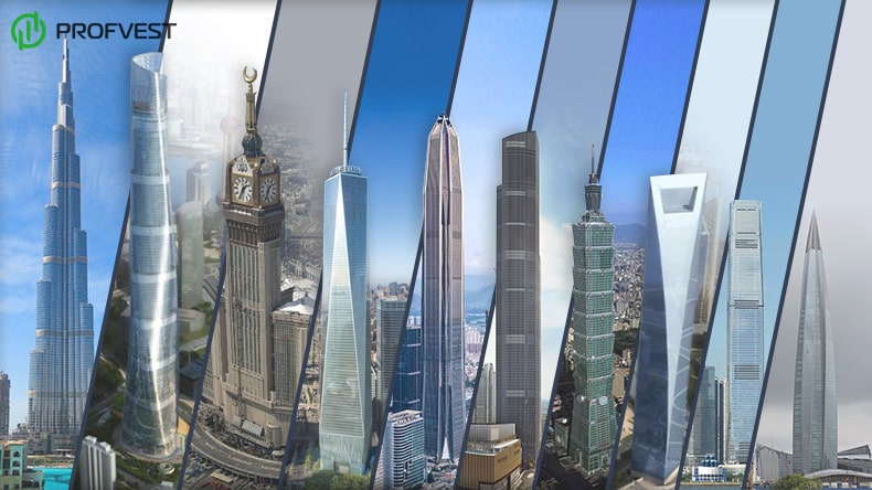 ТОП 10 самых высоких зданий в мире