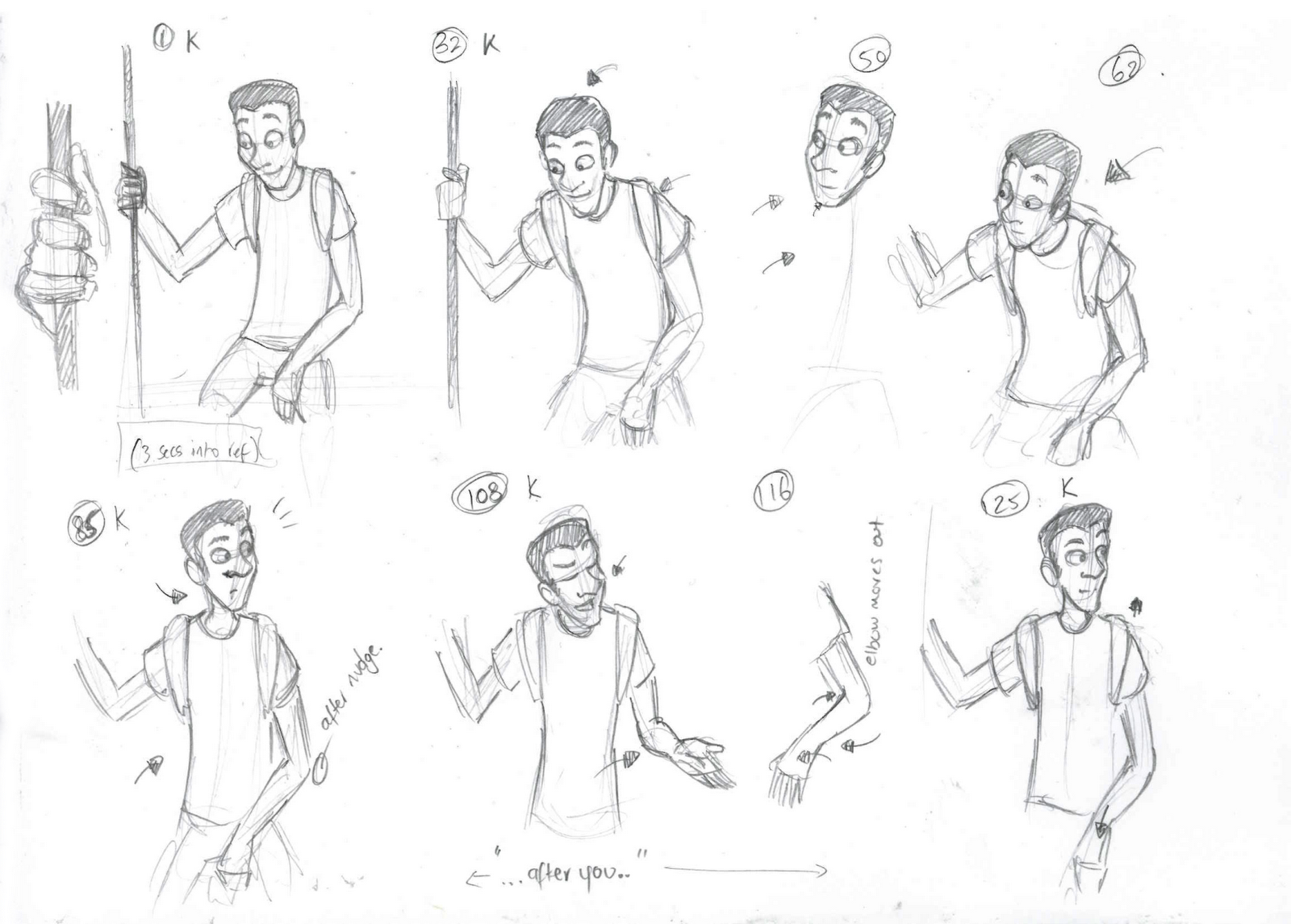 Studies Poses Male Body Drawing Pictures
