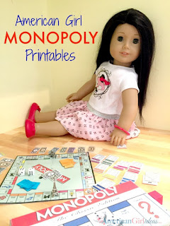 free American Doll printable games