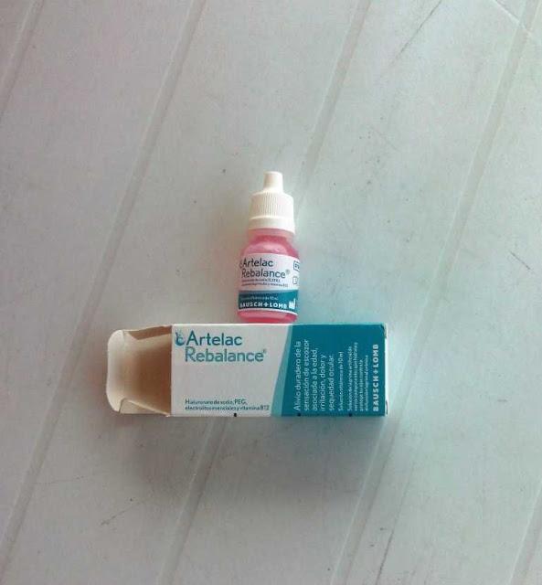 Solución para ojos secos Artelac Rebalance