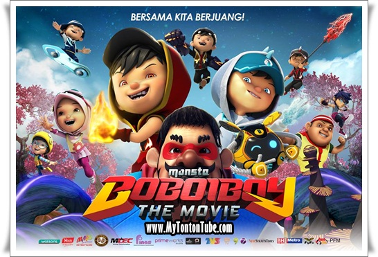 Filem Boboiboy The Movie (2016) - Full Movie