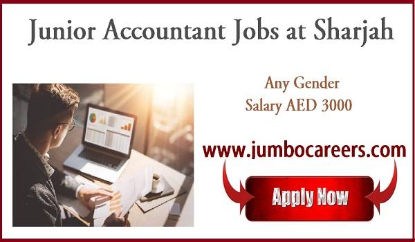 All new job vacancies in Sharjah, Recent jobs with salary in Sharjah,