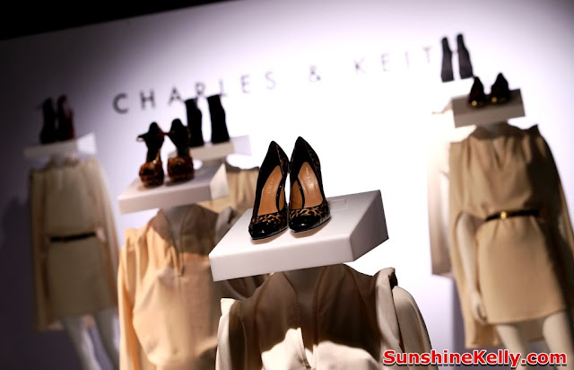 charles & keith, shoes, handbag, latest trend, autumn winter 2013 collection, cap toe heels, leopard print