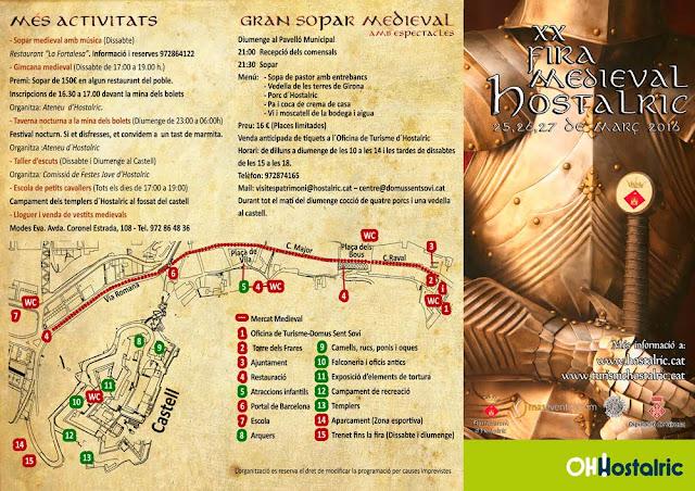 XX Средневековая ярмарка в Остальрике (XIX Fira Medieval Hostalric)