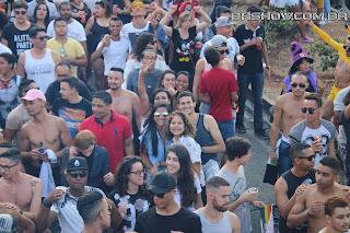 IMG 0045 - 13ª Parada do Orgulho LGBT Contagem reuniu milhares de pessoas