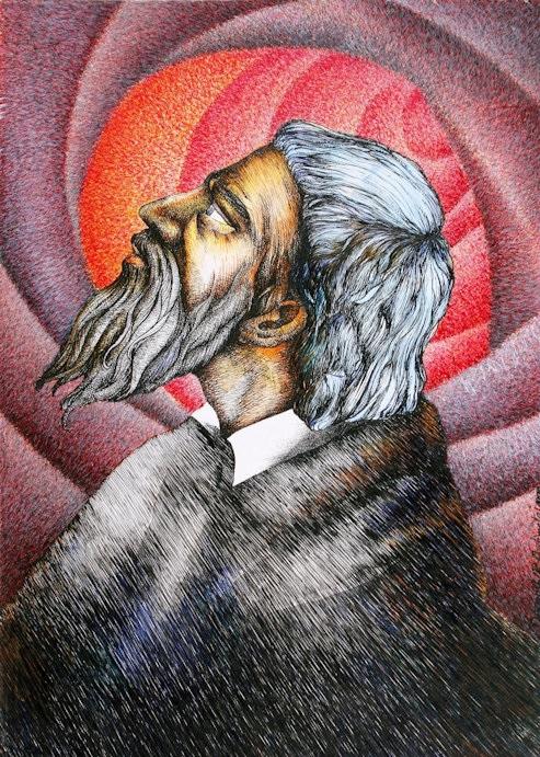 Pjetër Bogdani painting