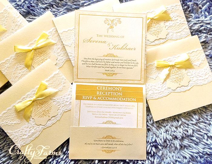 Pocket Wedding Cards