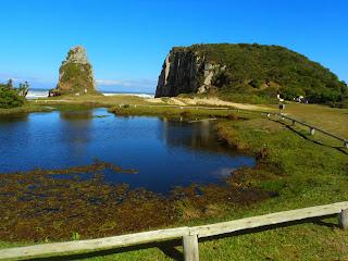 A Lagoa do Parque da Guarita, em Torres