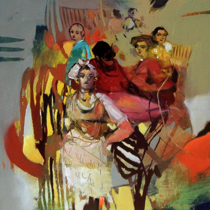 Турецкий художник. Hakan Esmer