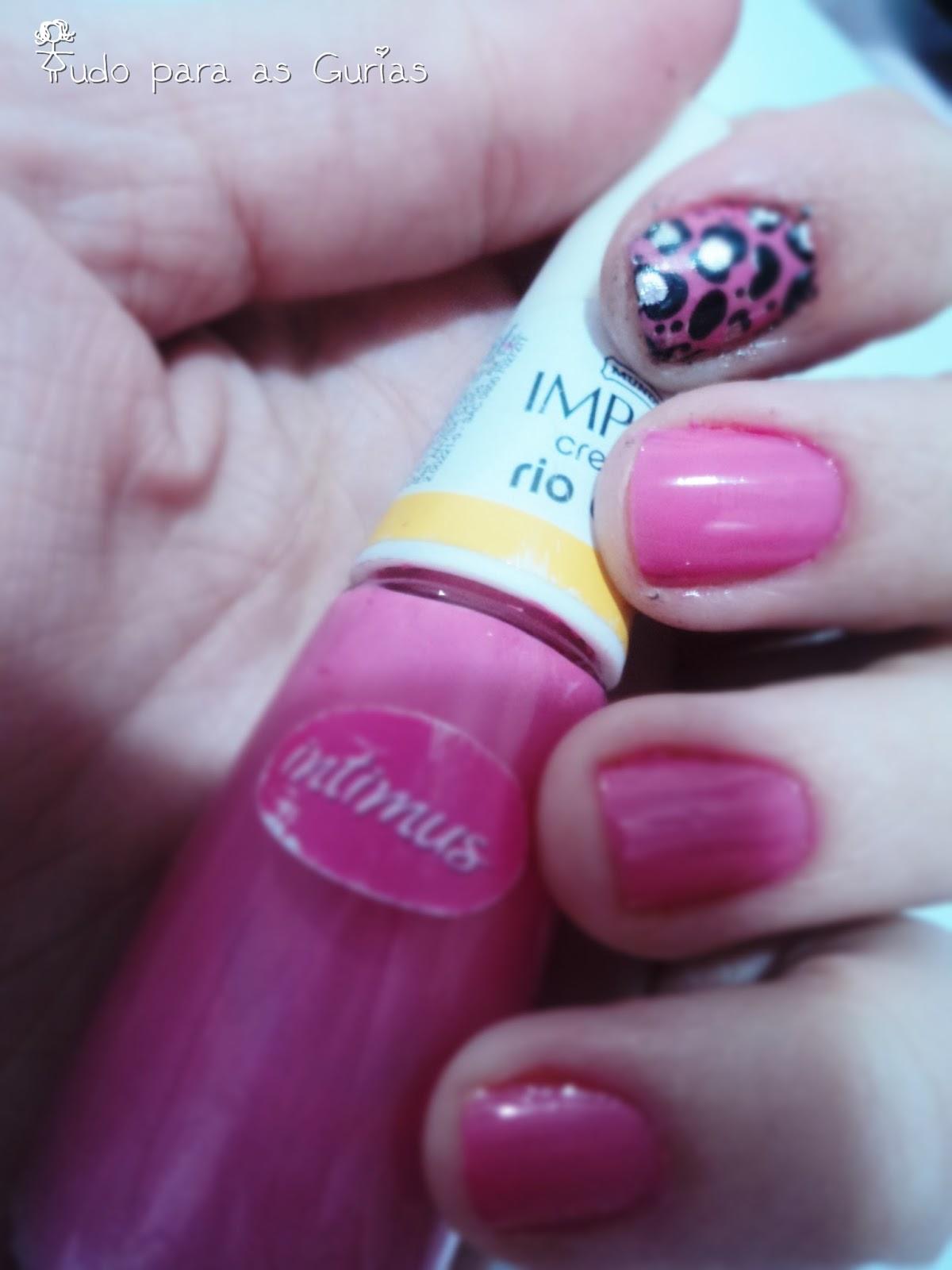 swatche; esmalte; esmalte impala; esmalte rosa