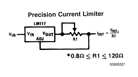 universal high watt led current limiter circuit