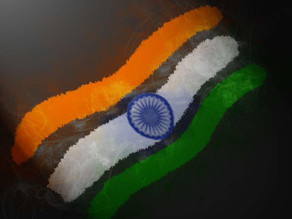 India Flag Hd Art: Wallpaper Indian Flag