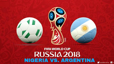 Live Streaming Nigeria vs Argentina Piala Dunia 27.6.2018