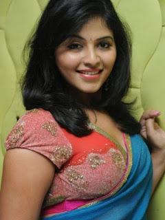 Anjali Hot Saree Blouse Photos