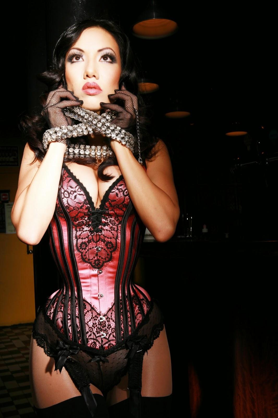 Jade Vixen: Lovesick Corsets: Jade Vixen Photographed By Christophe