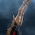 My body is my art: Dancer and fitness coach Kaffy poses topless in new photo