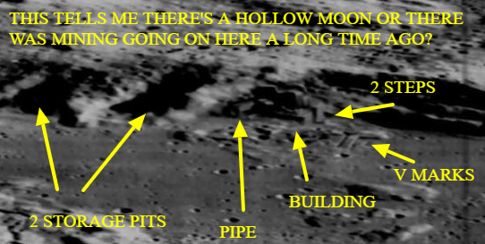 Here's the real evidence for mining and a bridge on the Moon.