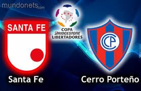 Independiente Santa Fe vs Cerro Porteño en Copa Libertadores