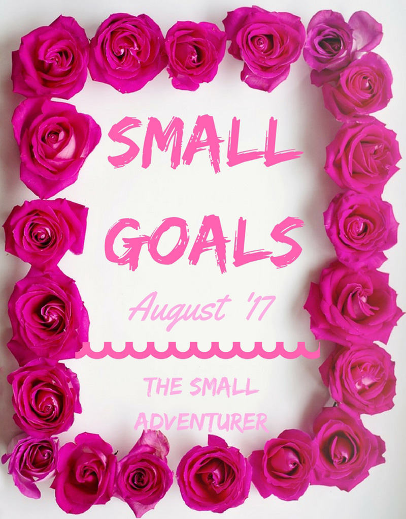 Small Goals || August 2017