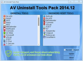 AV Uninstall Tools Pack 2018.06